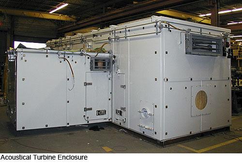 Acoustical turbine eclosure - J. C. MacElroy Co. Inc.